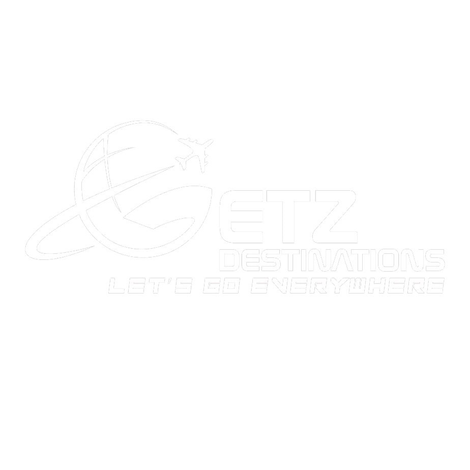 White Getz Destinations Logo